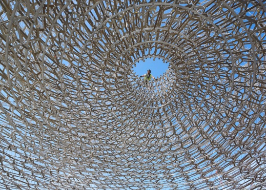 Inside-the-UK-Pavilion-Hive-by-Day-_dezeen